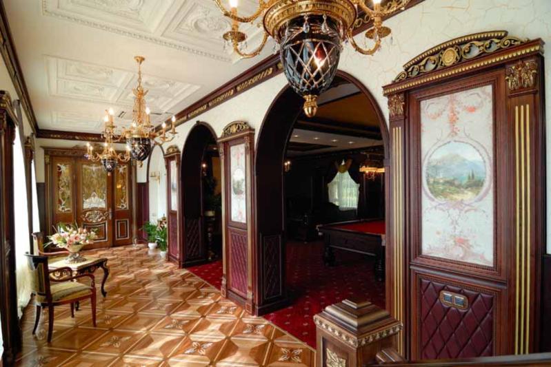 Inspirace - realizace - dekorační omítky San Marco - http://www.san-marco.com/ita/referenze/villa-privata-russia.php