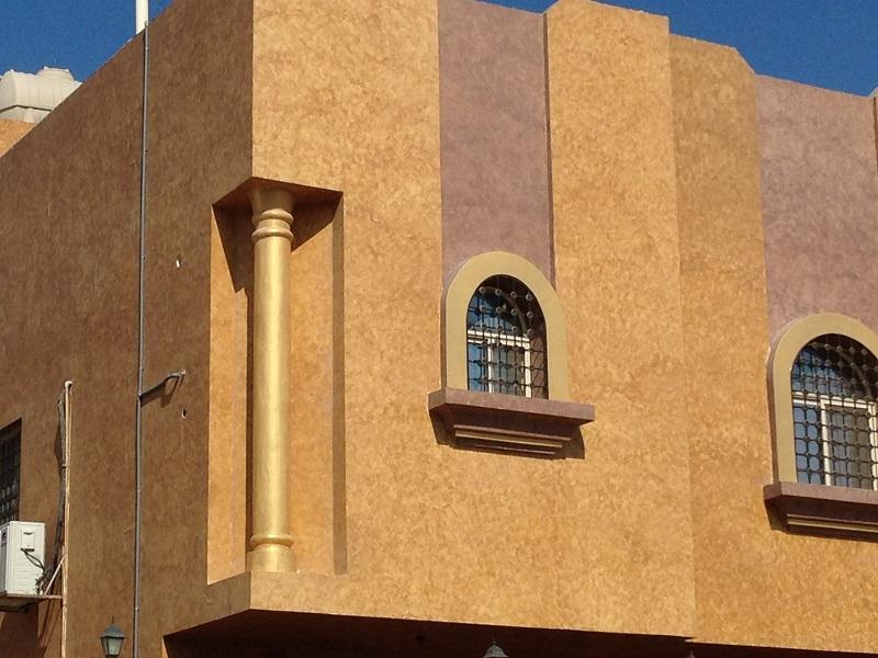Inspirace - realizace - dekorační omítky San Marco - http://www.san-marco.com/ita/referenze/villa-privata-arabia-saudita.php