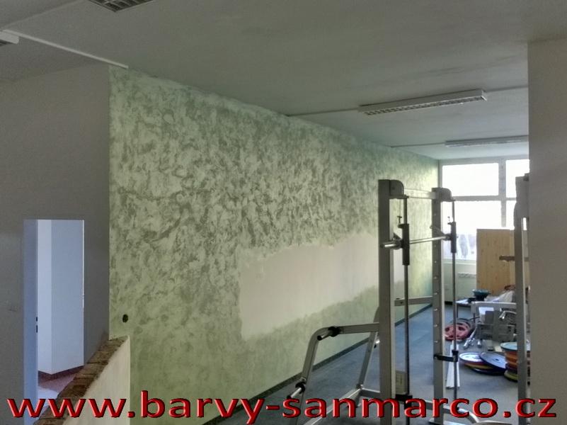 Dekorační stěrky a omítky - realizace - Dekorační omítka BARVY SAN MARCO, s.r.o.