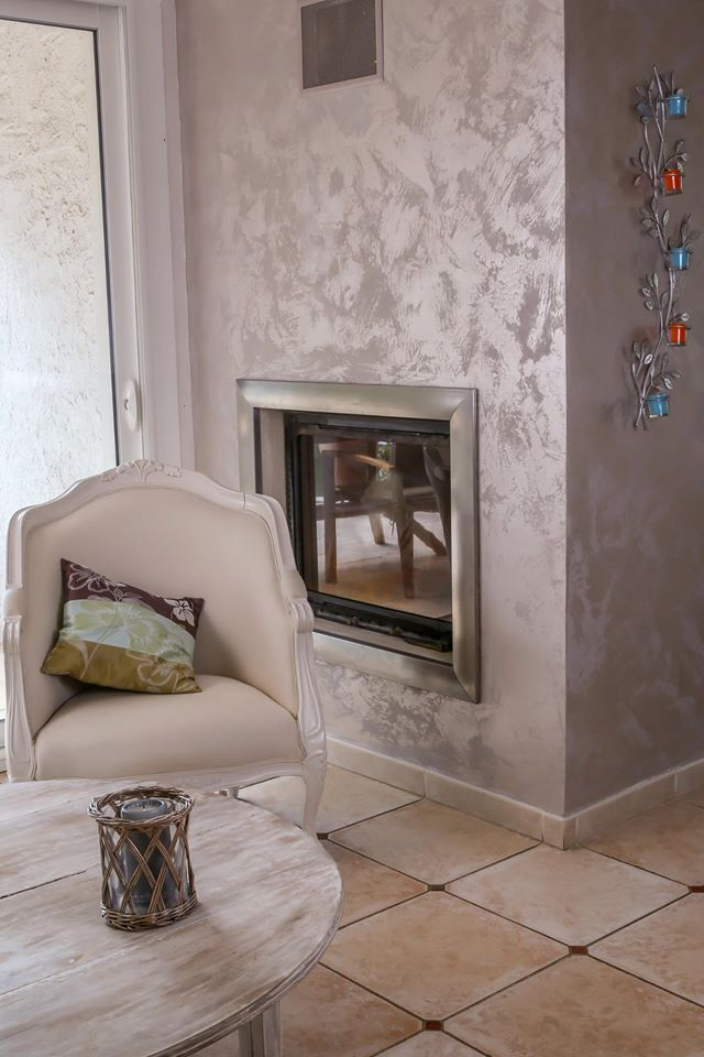 Inspirace - realizace - dekorační omítky San Marco - MARCOPOLO LUXURY - realizace z Francie