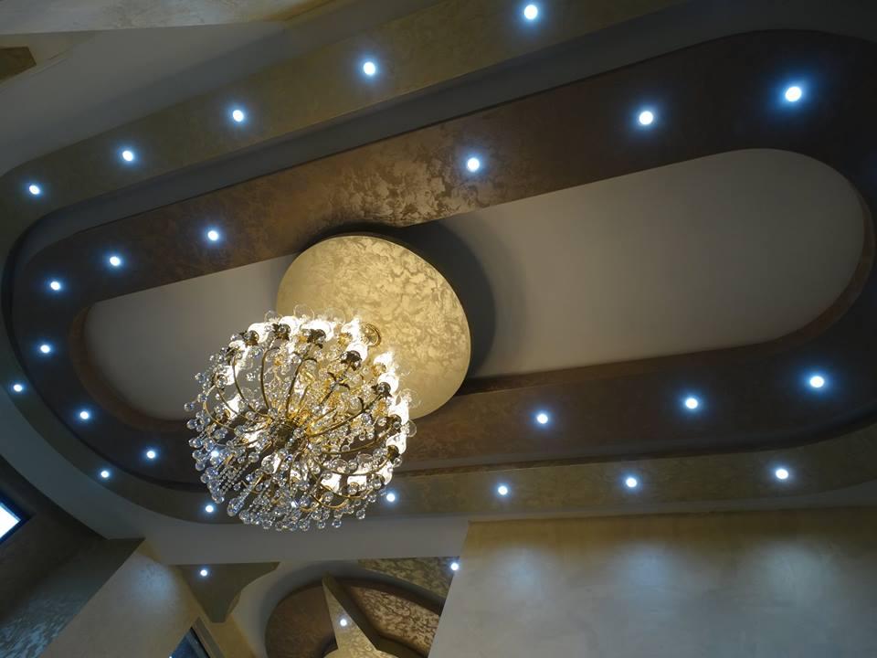 Inspirace - realizace - dekorační omítky San Marco - Cadoro a Marcopolo Luxury - realizace Bulharsko