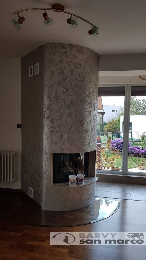 Proměny interierů pomocí našich dekoračních stěrek - Marcopolo Luxury