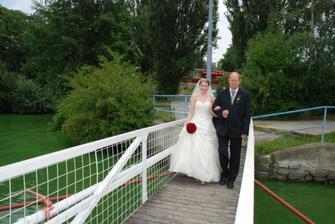 nevěsta a otec