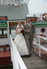 První kroky novomanželů na pevné půdě :o)