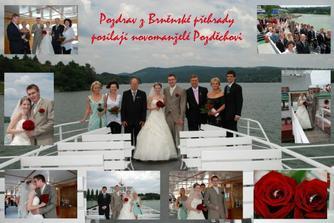 A závěrem jeden pozdrav z Brněnské přehrady