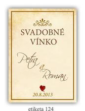 Etikety na vínko