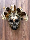 Originálna benátska maska,