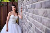 Svatební šaty šité dle vzoru Pronovias Mada , 34