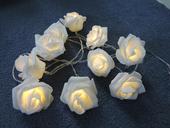 Svítící růžičky,