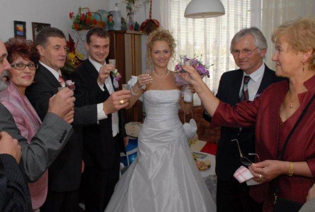 Marcela Cápayová{{_AND_}}Juraj Hollán - S rodičmi