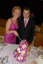 Svadobná tortička... Aj tá orchideová...