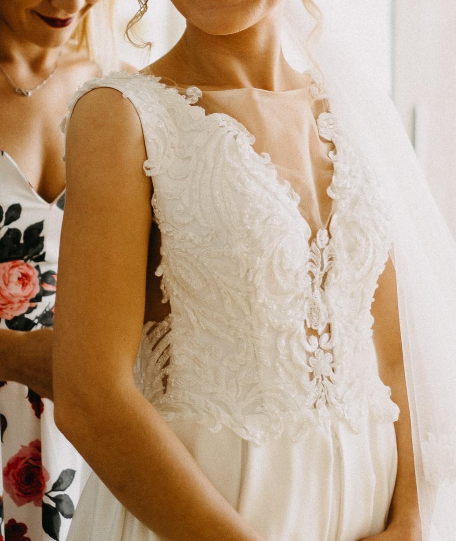 Svadobné šaty 34-36 - Obrázok č. 1