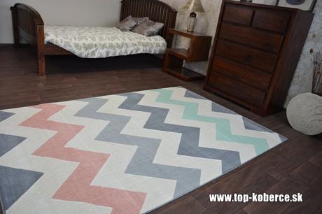 Moderný koberec - rozmer 120x170cm - Obrázok č. 1