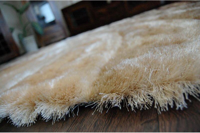 3D hnedý shaggy koberec - 120x170cm - Obrázok č. 2