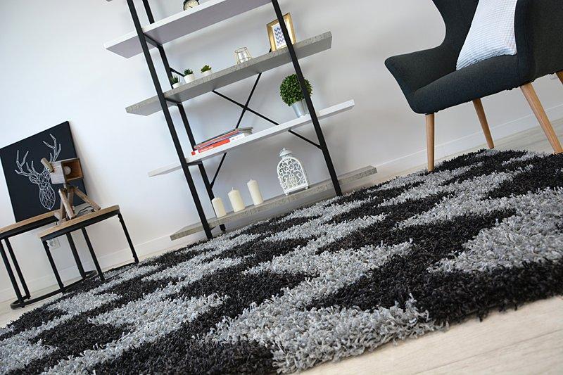 Shaggy cik-cak koberec - rozmer 120x170cm - Obrázok č. 4