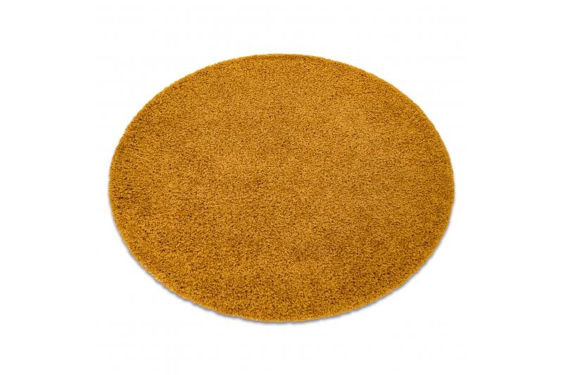 Žltý shaggy koberec - Obrázok č. 1