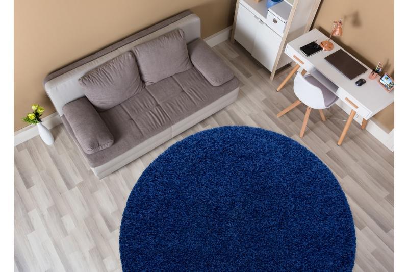 Žltý shaggy koberec - Obrázok č. 3