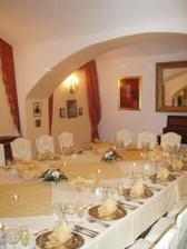 ...a oběd pro rodinu v přilehlém Café Bertramka