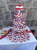 Stojan na dort a cupcaky - 5ti patrovy,