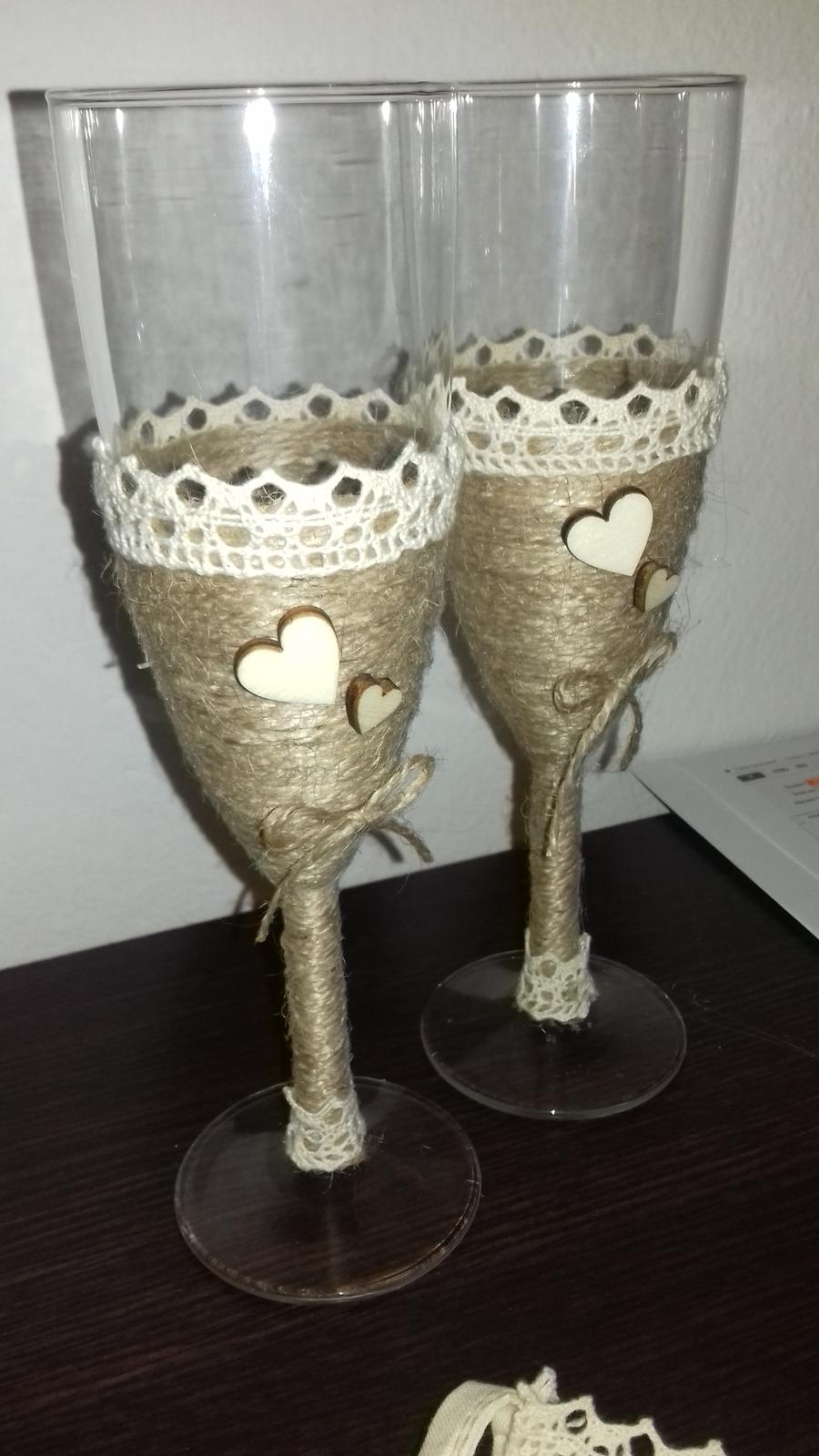 Svadobné poháre  - Obrázok č. 4