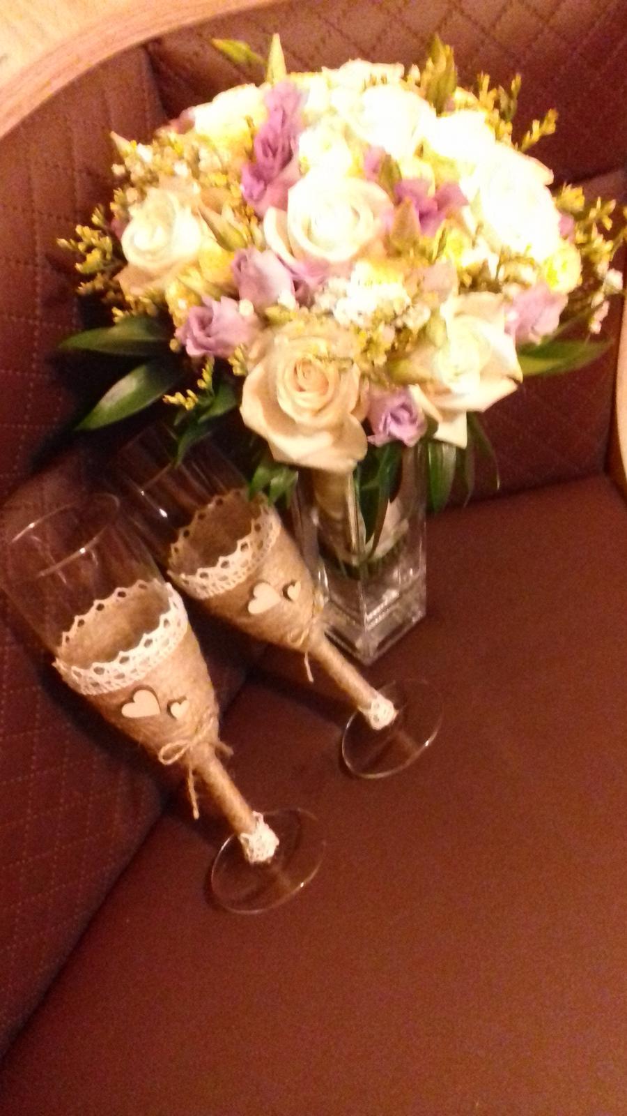 Svadobné poháre  - Obrázok č. 3