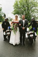 překvapení:-) policejní doprovod mi obstarali kolegové z práce a přímo i ředitel