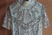 Maxi glam dress / ASOS, 36