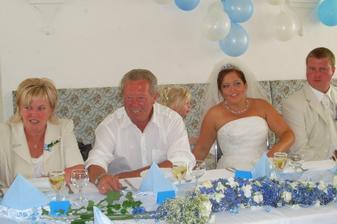... u svatební tabule