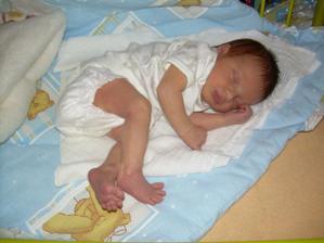 ...a 7.7.2008 v 9:07 se nám narodila Nicol:-)