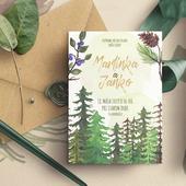 Lesní svatební oznámení,