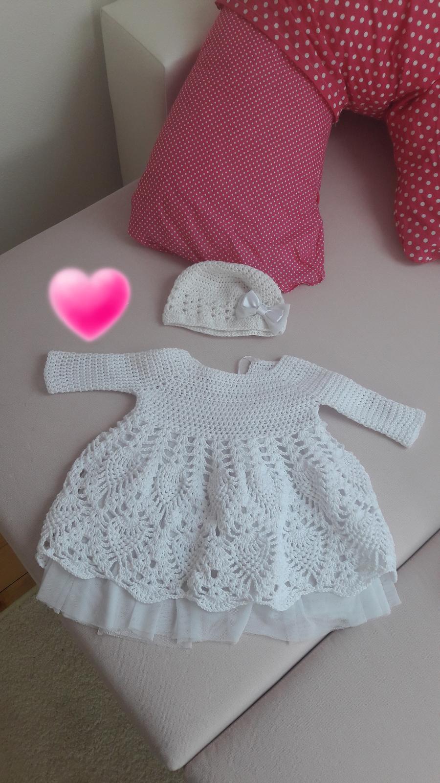 luxusné šaty pre bábätko - Obrázok č. 1