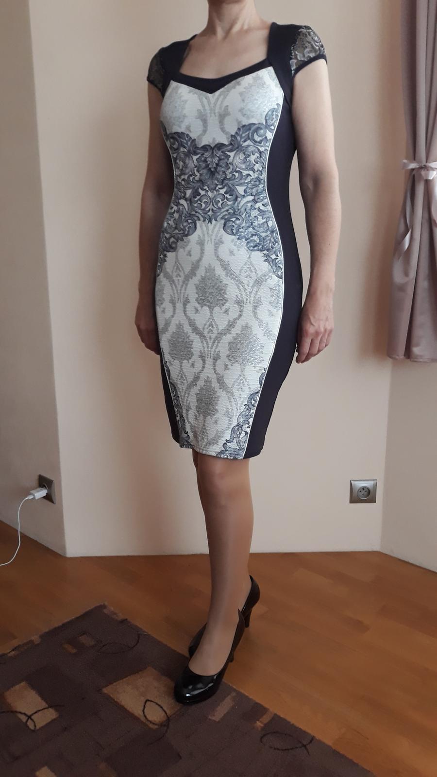 Popolnočné/spoločenské šaty - Obrázok č. 4