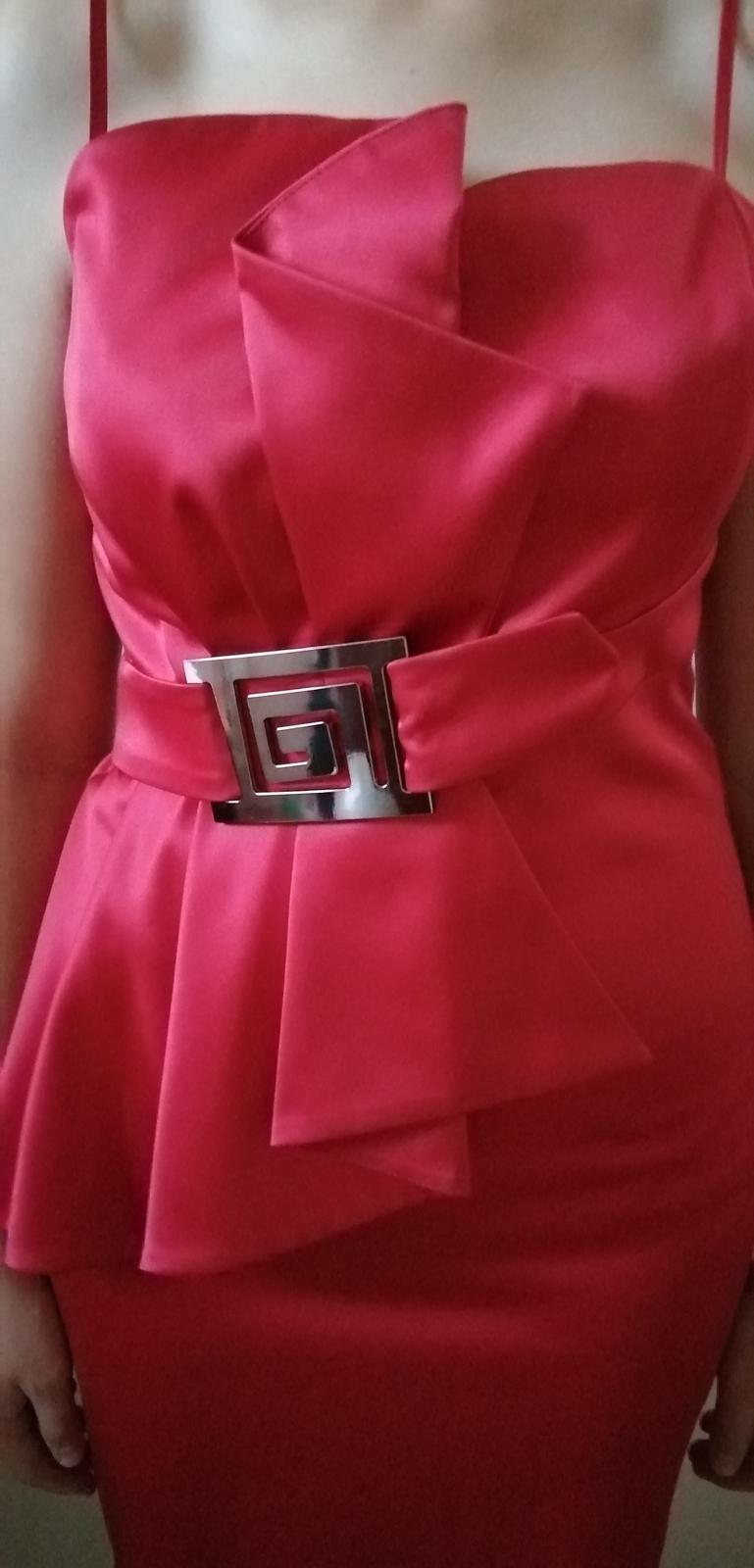 Elegantné spoločenské šaty - Obrázok č. 1