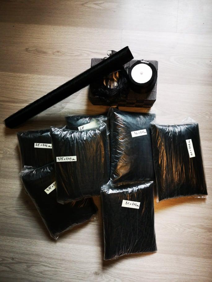 Organza - černá - Obrázek č. 1