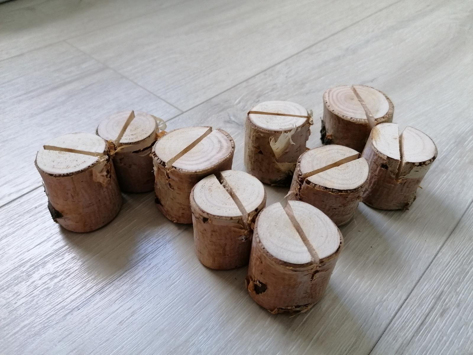 Držiak  z brezy na menovky - Obrázok č. 1