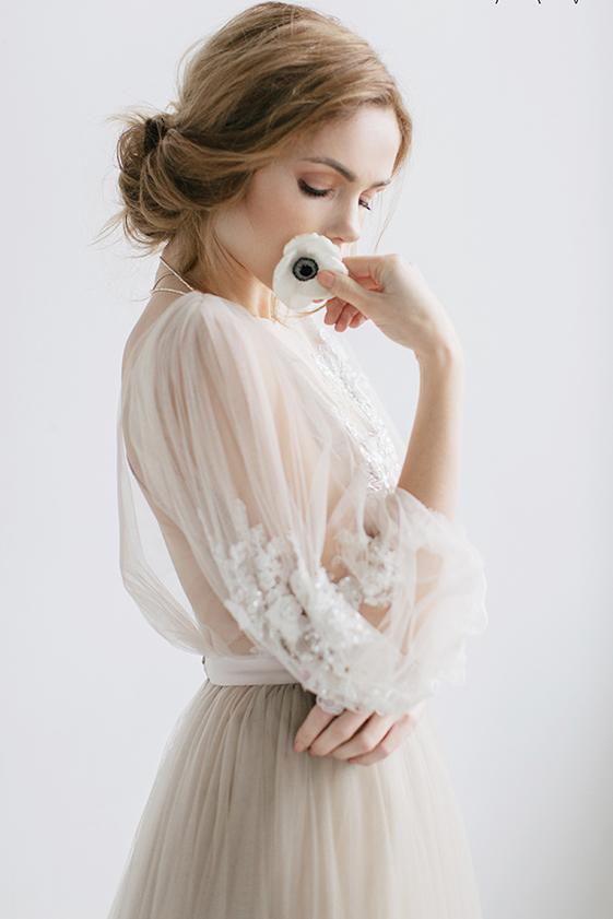 Naše BOHO svatební šaty - svatební šaty LINDA