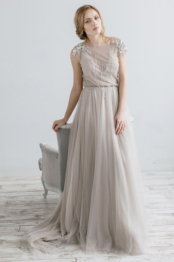Naše BOHO svatební šaty - svatební šaty IVANEL