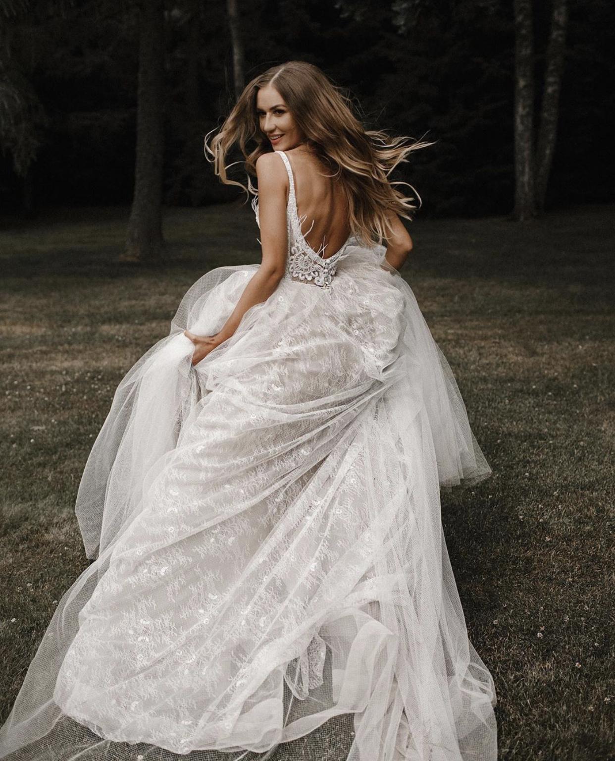Svatební šaty NEITAL - vice na našem webu https://www.salonhannazlin.cz/