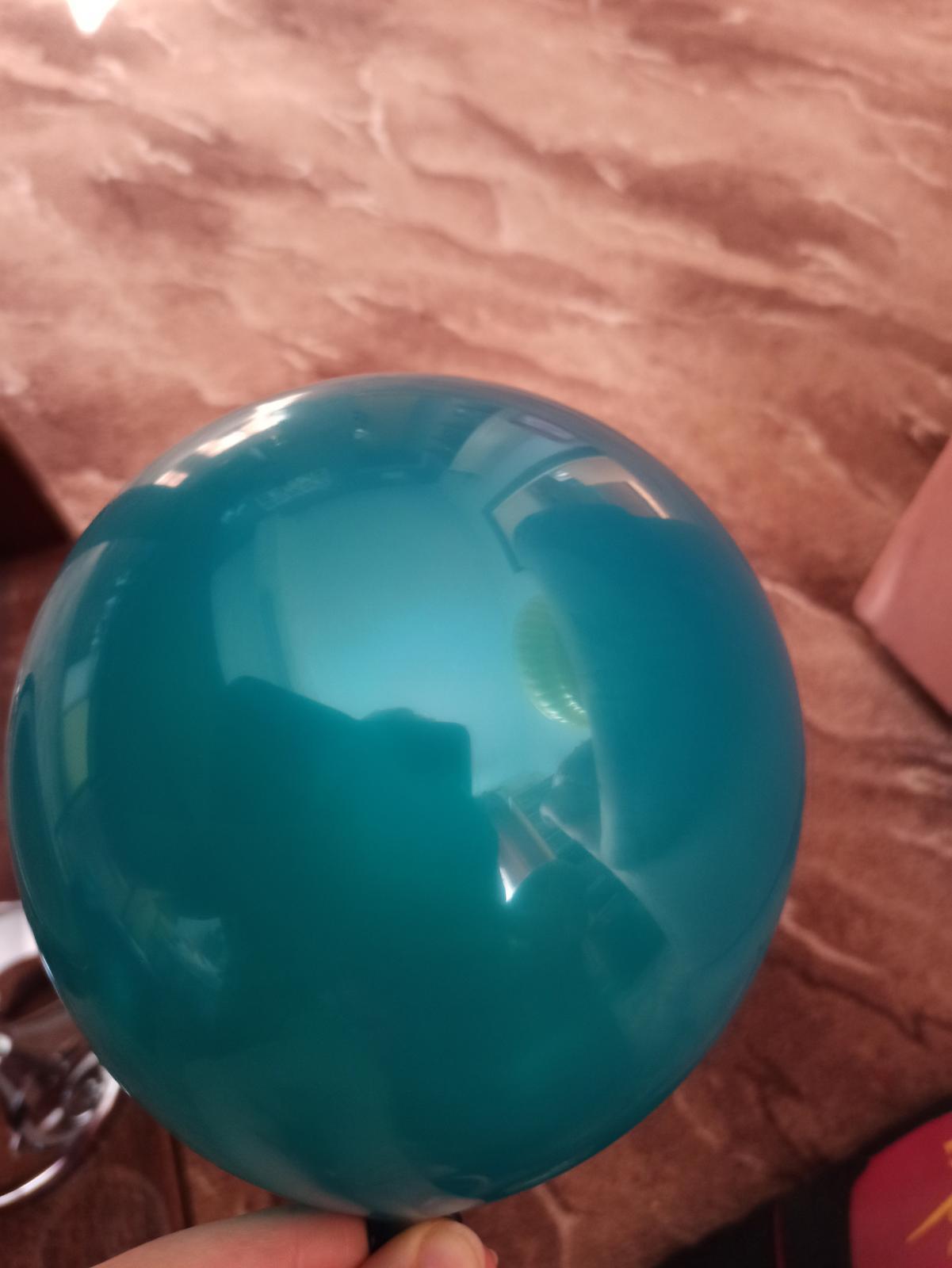 Balónky teal/petrolejové - Obrázek č. 3