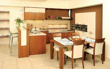 Pěkná kuchyň