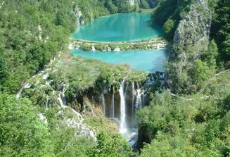 a Plitvické jazerá