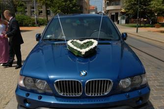 srdce na auto