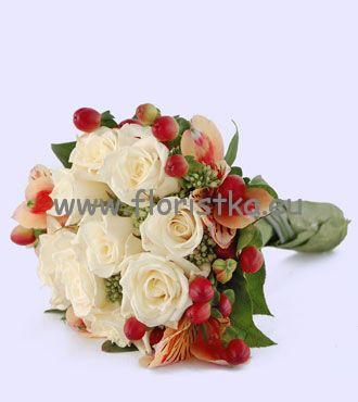 Květiny - bílé růže - Obrázek č. 26