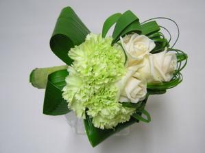 objednané kytky pro maminky