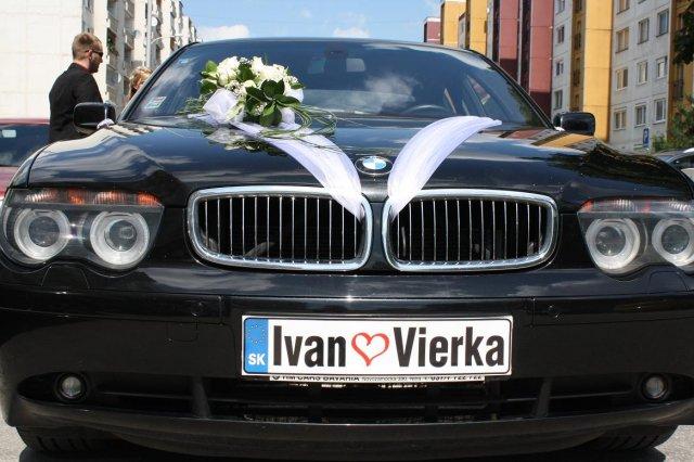 Vierka{{_AND_}}Ivko - nase krasne  svadobne auticko