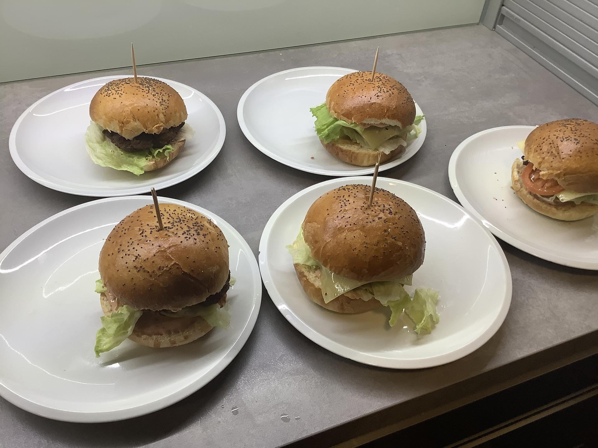 Pečení - Domácí burger