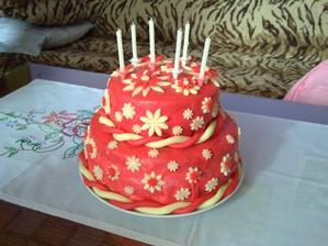 Musim sa pochvalit.... torticka pre moju princeznu :-)