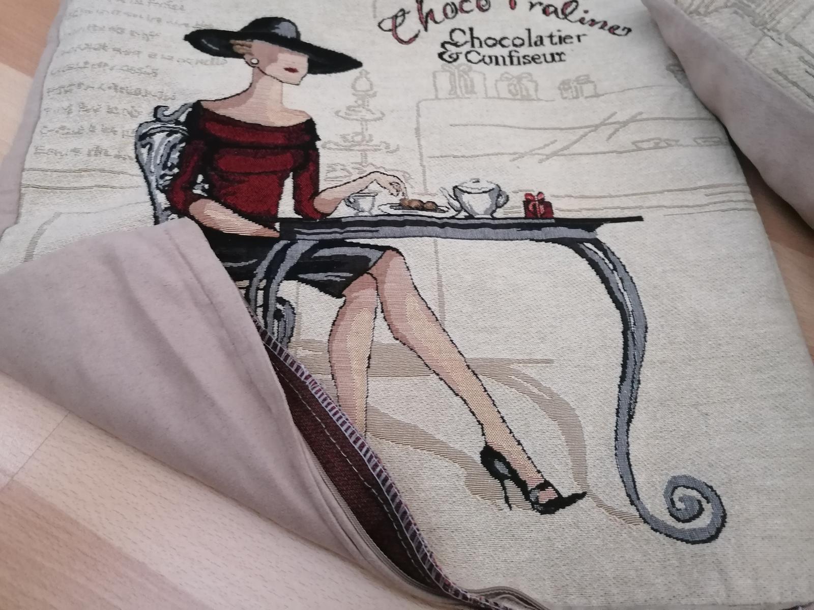 Dva ks dekoratívne obliečky na vankúš 45krat45cm - Obrázok č. 2