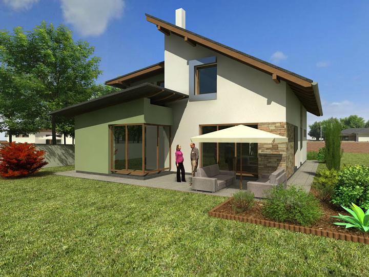 Nový domov - náš prvý návrh