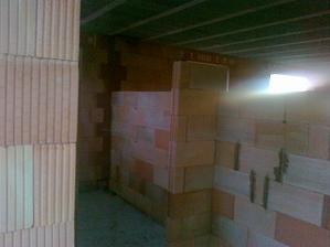 Budúca kúpelňa na prízemí